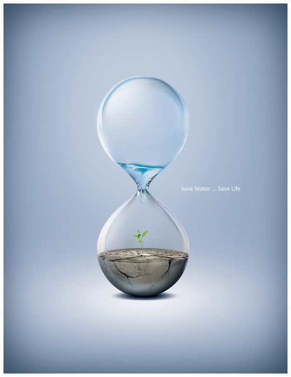 Water is a fundamental part of our lives. Never pollute or waste it.