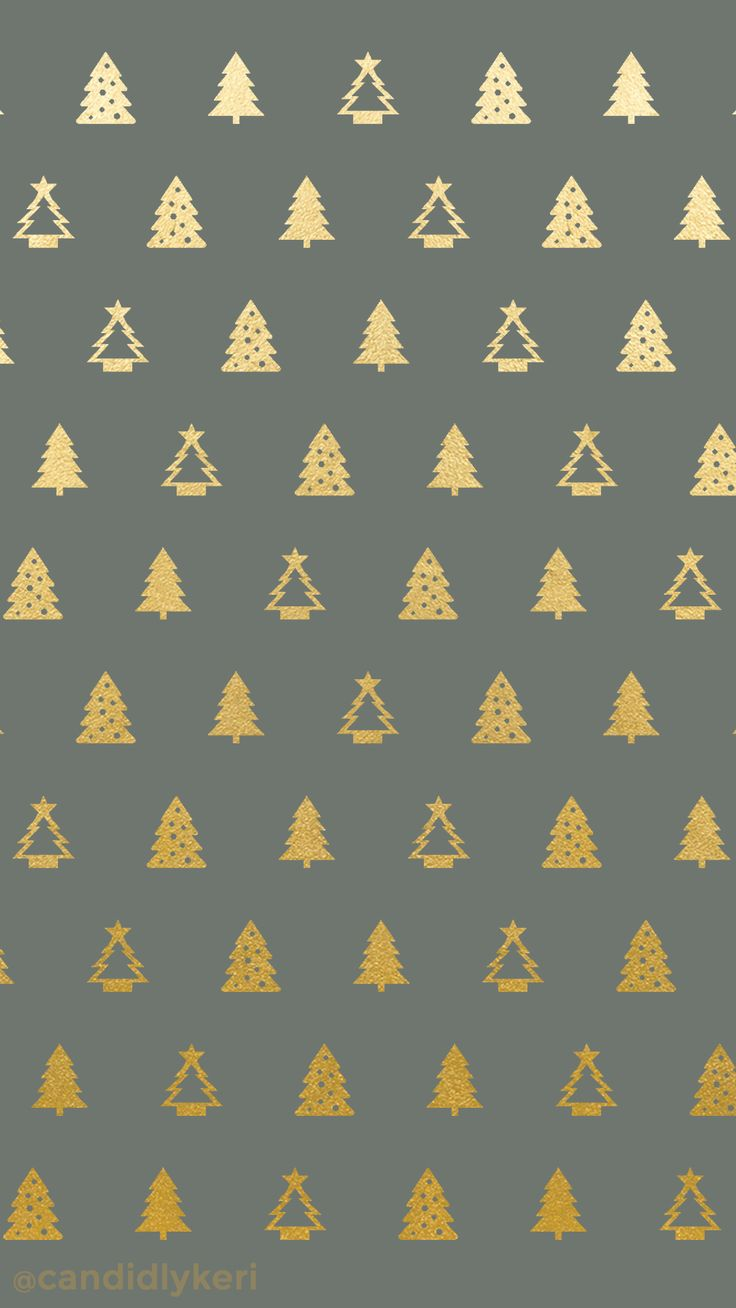 Christmas tree gold foil green background wallpaper you can download for free on the blog! For any device; mobile, desktop, iphone, android!  FREE CHRISTMAS WALLPAPER DOWNLOAD