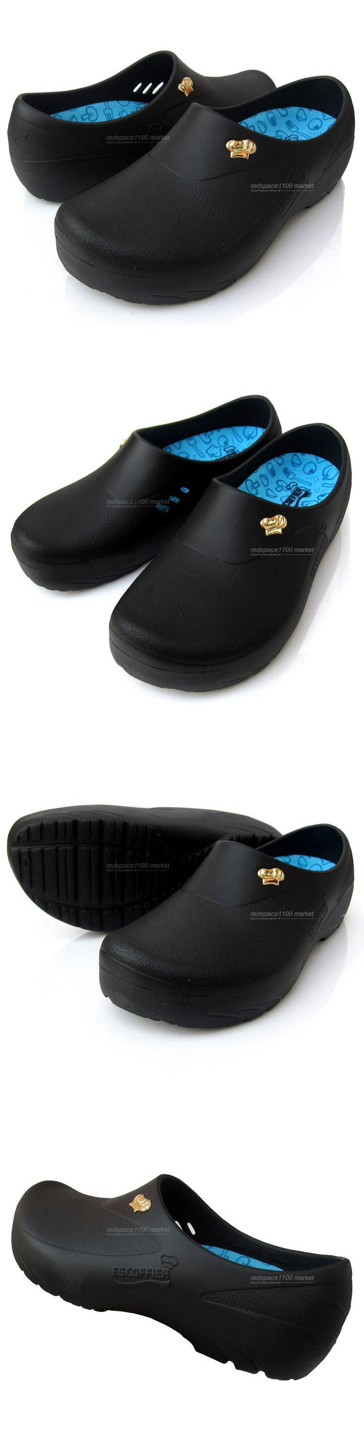 Occupational 11501: Men Chef Shoes Comfort Clogs Kitchen Nonslip Shoes Safety Black Shoes -> BUY IT NOW ONLY: $48.5 on eBay!