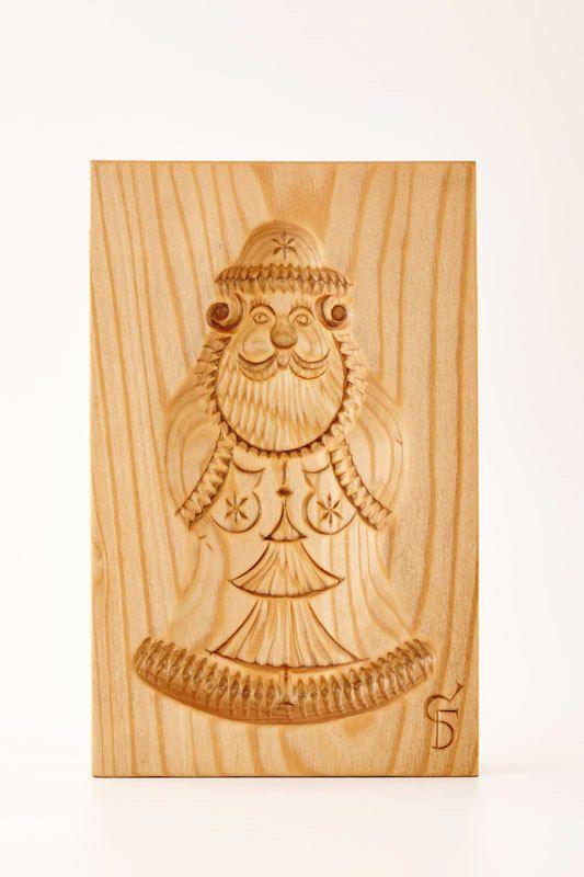 DEDUSHKA MOROZ wooden mold for pryaniki and cookies by PryanikAndCookie on Etsy