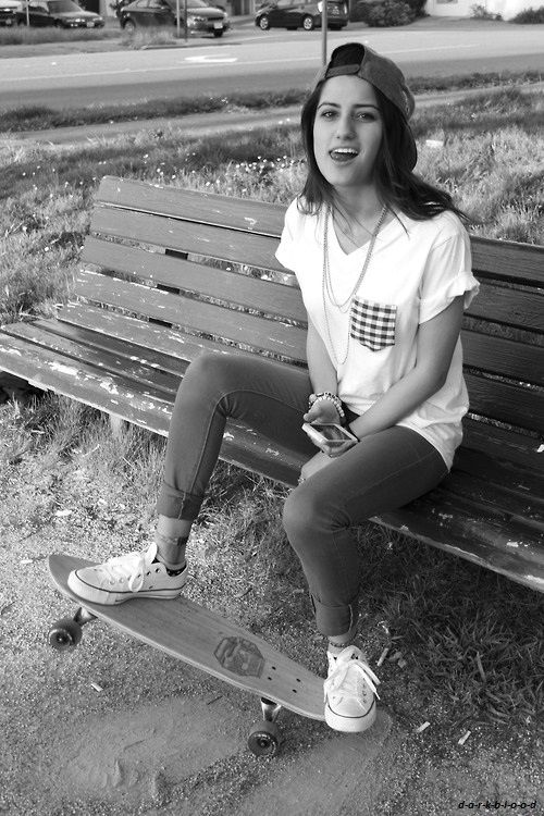 #Skateboarding with White converse low-tops. Check! #titus #onlineshop titus-shop.com