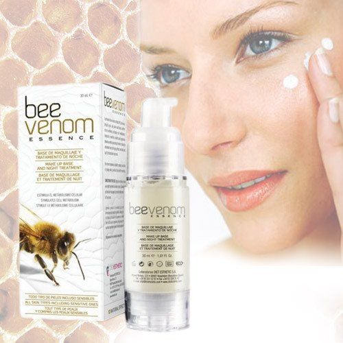 Buy Bee Venom Serum Essence 30 ml at the best price. Synthesised bee venom extracts, bee wax, propolis, royal jelly, pollen and honey reaffirm micro-wrinkles, s