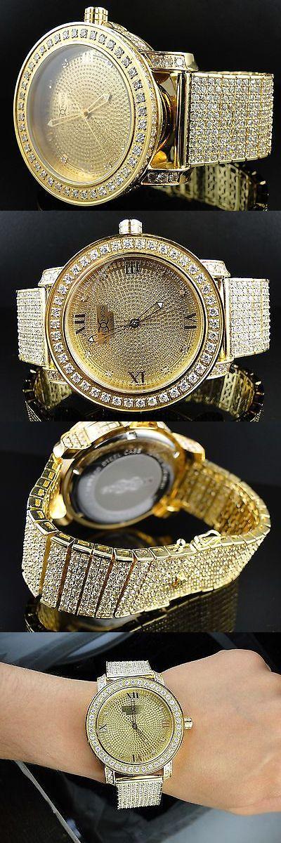 Other Jewelry and Watches 98863: New Mens Khronos/ Jojino / Jojo / Joe Rodeo Genuine Diamond Watch BUY IT NOW ONLY: $299.99