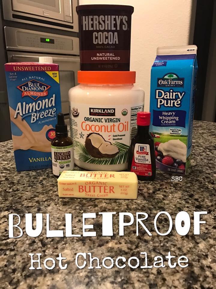 Bulletproof Hot Chocolate Almond Milk