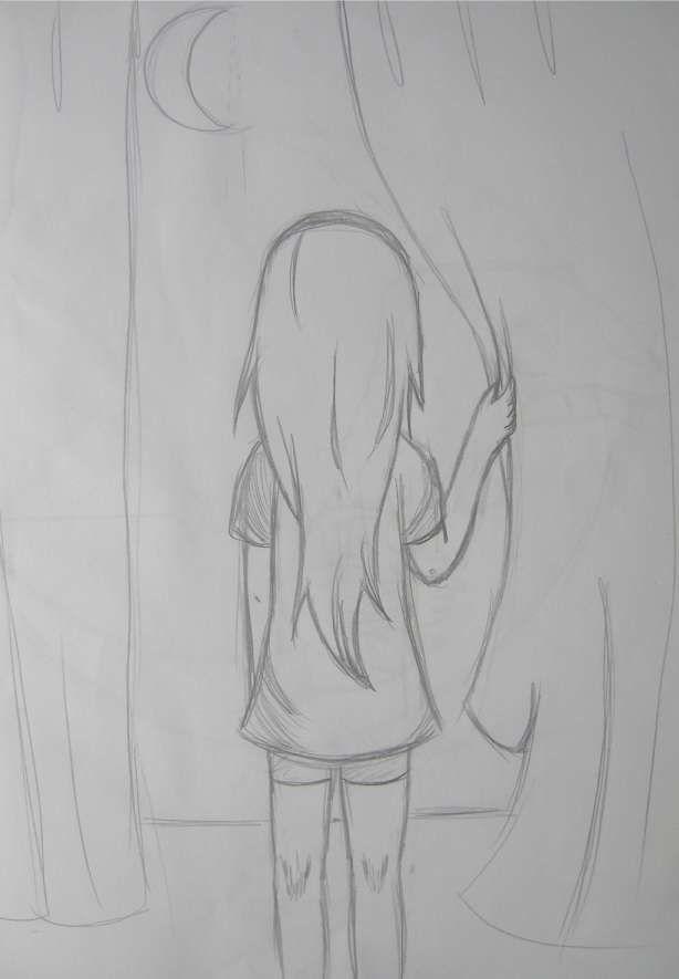 16 Sketch Drawing Anime Simple In 2020 Easy Drawings Sketches Art Drawings Sketches Simple Art Drawings Simple
