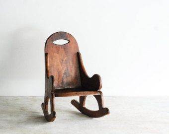 Vintage Kidu0027s Chair | Littlecows