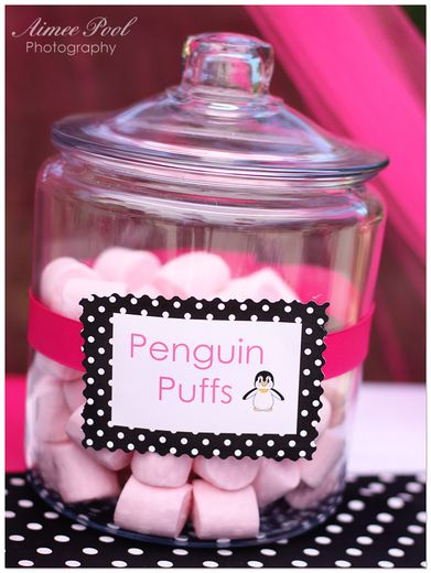 "Photo 6 of 17: Penguin / Birthday ""Posh Penguin Party"" | Catch My Party"