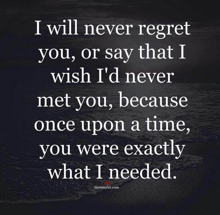 Love Regret Quotes Images