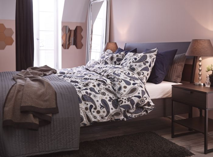 ikea want to wake up in a different room it could be easier and less costly than you think we took the basics of a master bedroom bed side tables