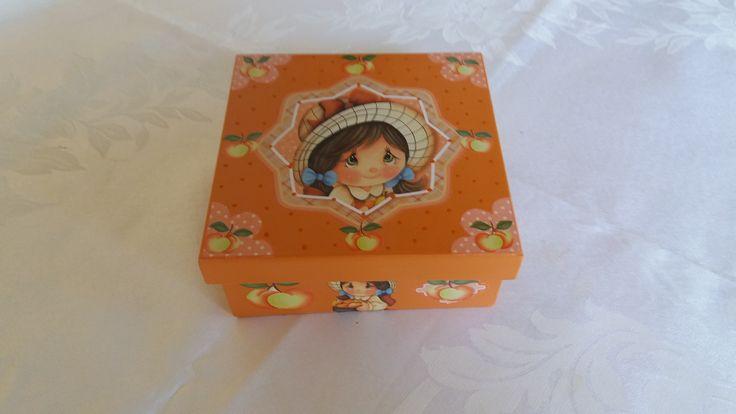 Caixa biju infantil -www.elo7.com.br/esterartes