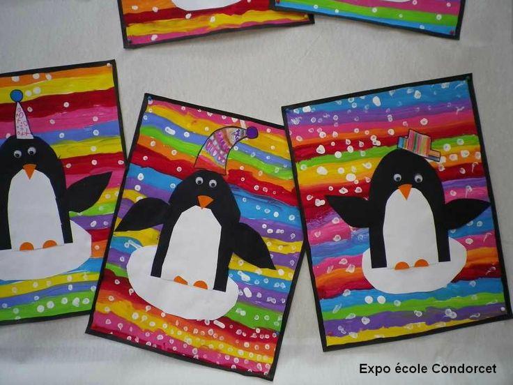 C'est en voyant ces premiers flocons de neige que le petit pingouin de l'école Condorcet a su qu'il était arrivé chez lui. Ses frères...
