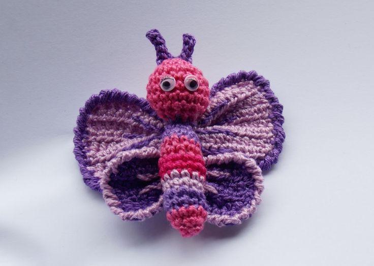 Mariposa - Butterfly - crochet pattern