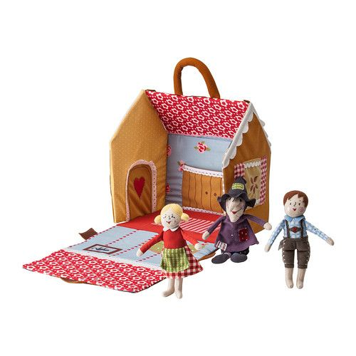 IKEA - SAGOHUS, 4-piece fairytale house set,