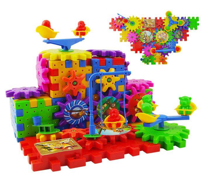 Новый сорт электрические блоки 81 медведь зараженных коробке строительные блоки детских развивающих игрушек - Taobao