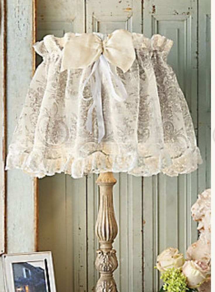 Lace Lampshade