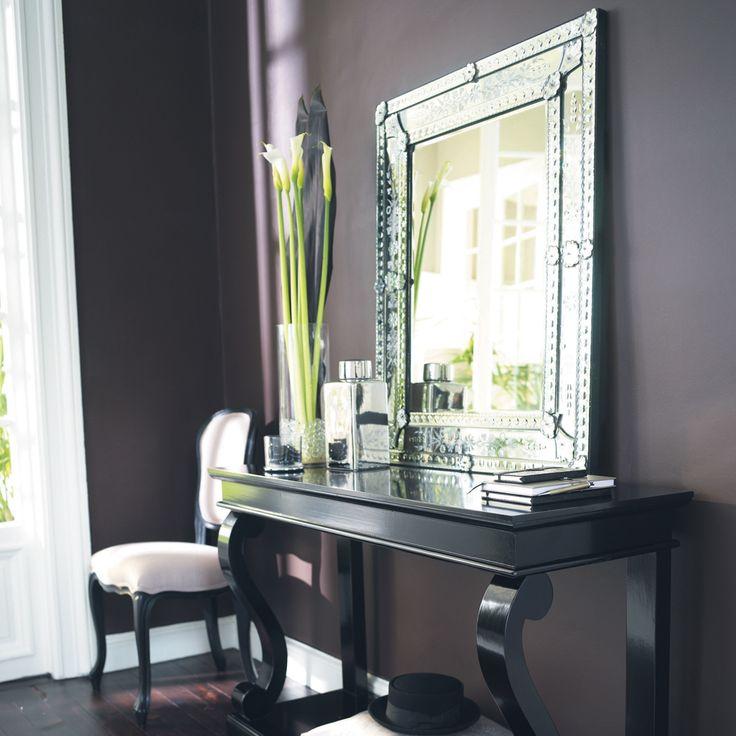 Miroir en verre H 90 cm VÉNITIEN | Maisons du Monde