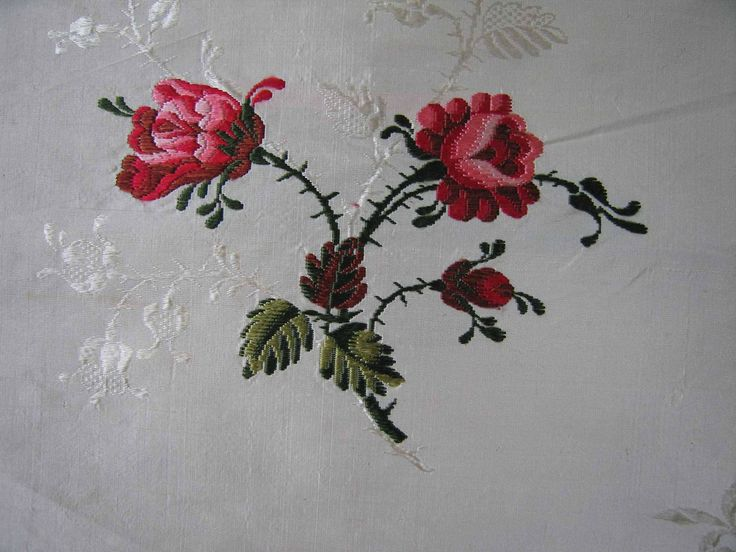 18th century Brocaded Floral Spitalfields Silk Panel - 50 inch. by textilesgoneby on Etsy