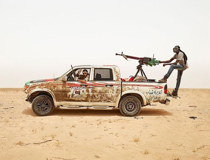 Hassain and Muhammad, near Ajdabiya, Libya  
