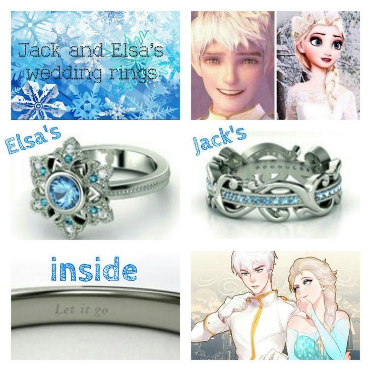 Jelsa Wedding Rings. AWWW!!