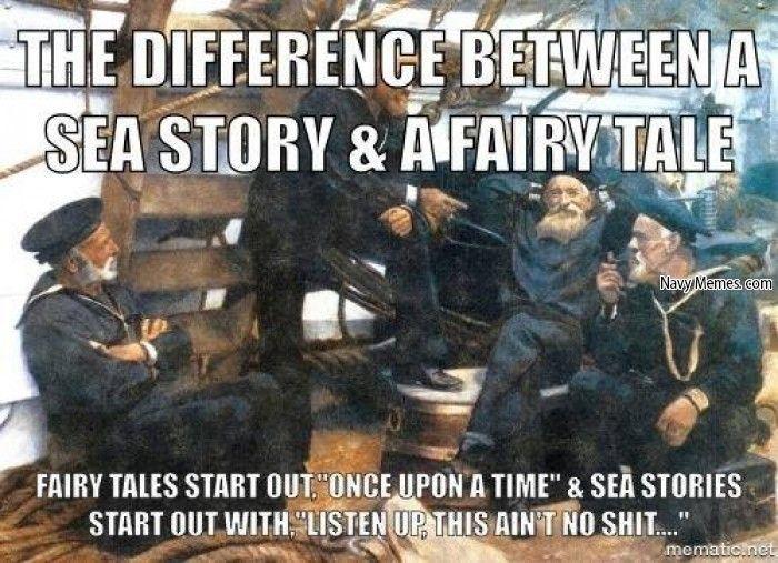 Fairy tail vs Sea Story - Navy Memes - clean mandatory fun