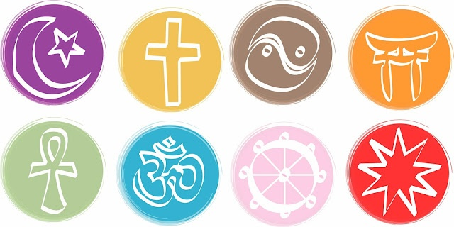 Icons for the multifaith calendar, handrawn, then scanned and then redrawn on mac for digital print.