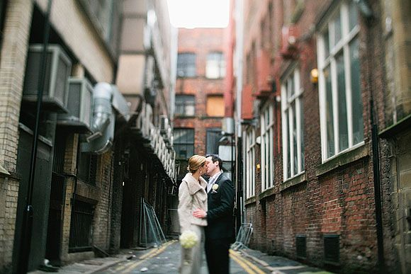 Eden by Jenny Packham vintage style wedding dress for an Elegant City Wedding in Manchester