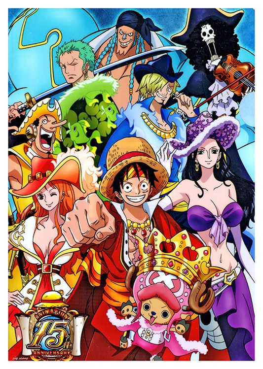 One Piece Anime Poster, available at 45x32cm. This poster