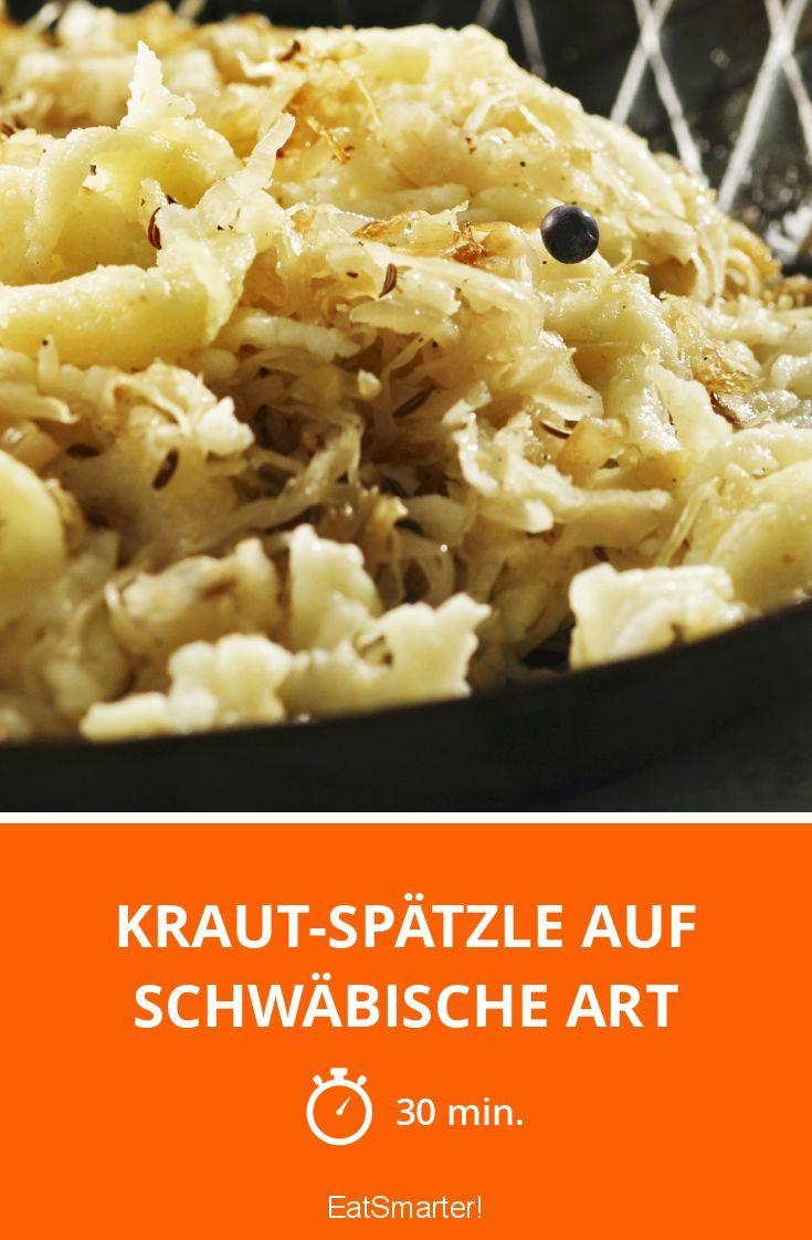Kraut-Spätzle auf schwäbische Art - smarter - Zeit: 30 Min. | eatsmarter.de