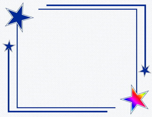 Award Certificates Rising Star, Holographic Foil, 12/PK. 12 Sheets of 90 gsm, 24 lb white cover, Gold Holographic Foil 2""