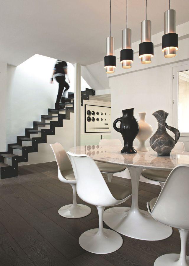 Appartement paris 3 duplex avec terrasse de thibault chanel présentateur sur m6