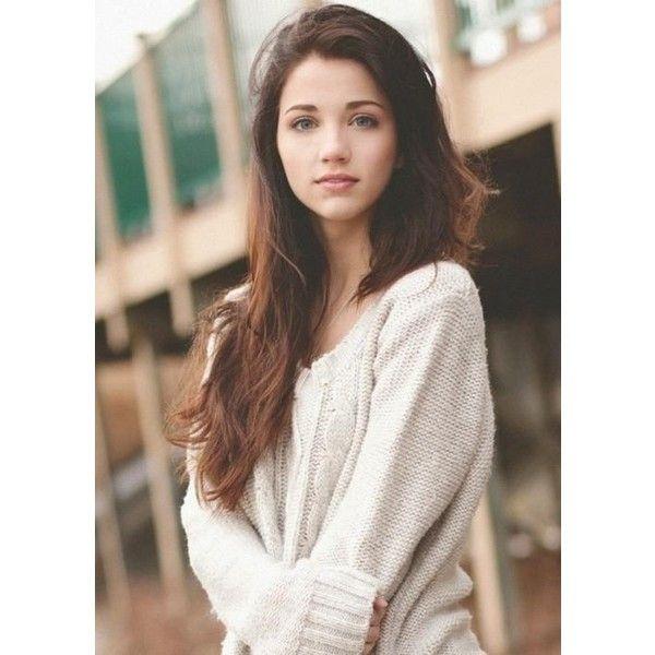 Haired Brunette Teen 18