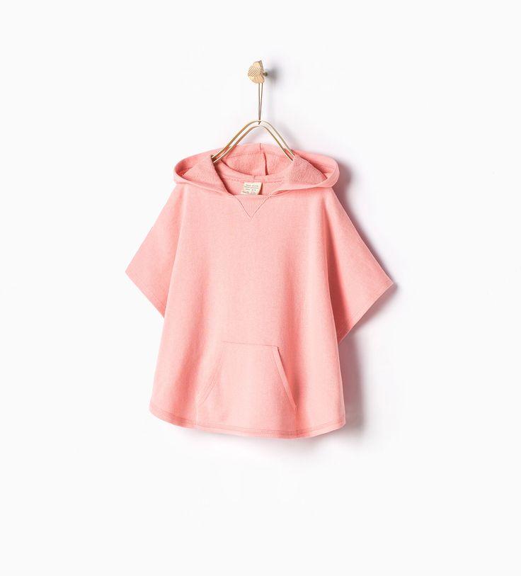 Cape à poche - SWEAT - SHIRTS - FILLES | 4 - 14ans - ENFANTS | ZARA France