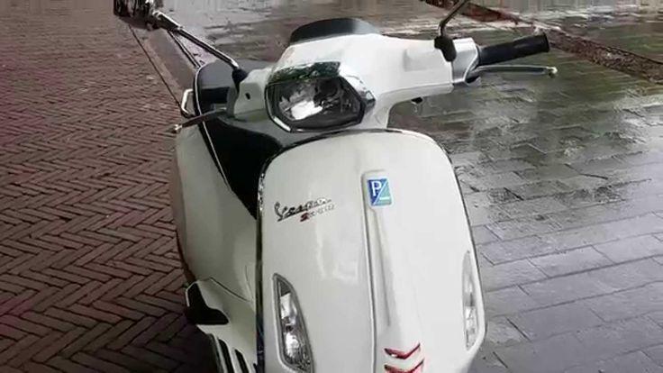 Vespa Sprint bij scooterking