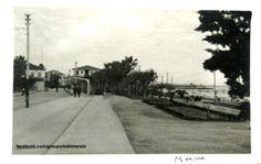 #Mersin Atatürk caddesi Vali konağı Önü.. 1950 ler....
