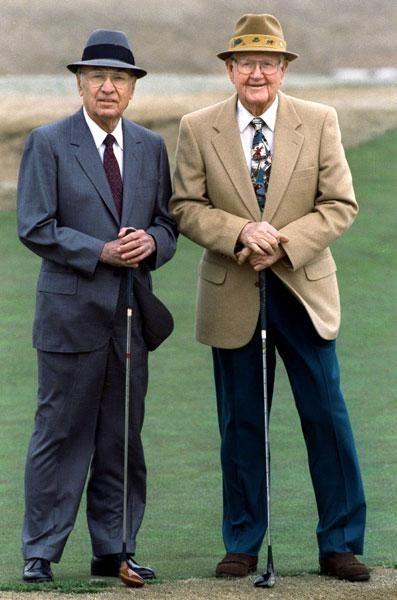 Ben Hogan Byron Nelson 2 - The 31 Greatest Ben Hogan Photos Of All Time - Photos - Golf.com