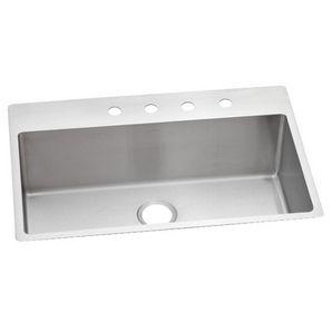 22 x 33 x 10 stainless steel single drop in kitchen sink homehardware - Home Hardware Kitchen Sinks
