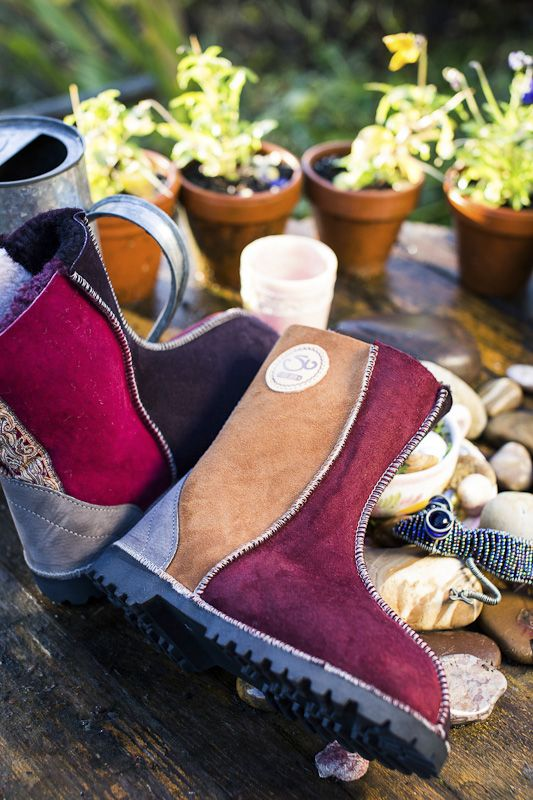 Another aspiring Narberth based business, Susies Sheep Skin boots are really something special