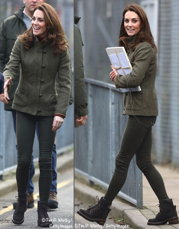 eee2b32208f91 Kate in Dubarry and Chloé for Garden Visit & The Designing Duchess! - What  Kate Wore