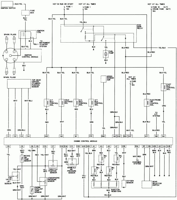 15 1997 Honda Accord Engine Wiring Diagram Engine Diagram Wiringg Net Honda Accord Honda Diagram