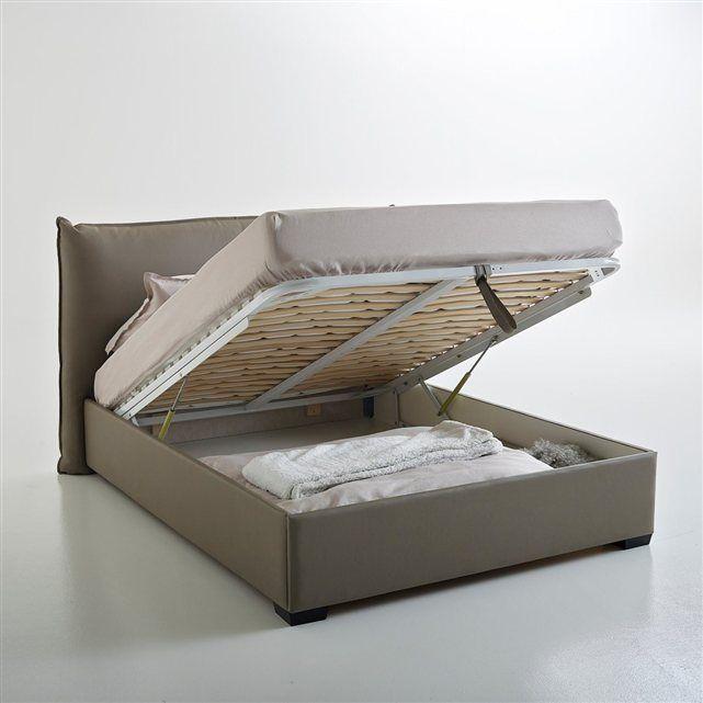 17 parasta ideaa lit coffre 140x190 pinterestiss lit 140x190 avec rangeme - Lit avec rangement 140x190 ...