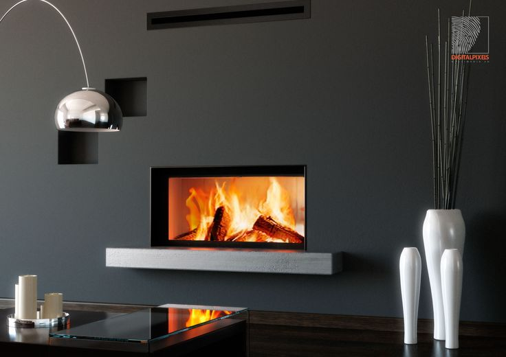 Fireplace Storch for catalog, 3ds Max & Iray render