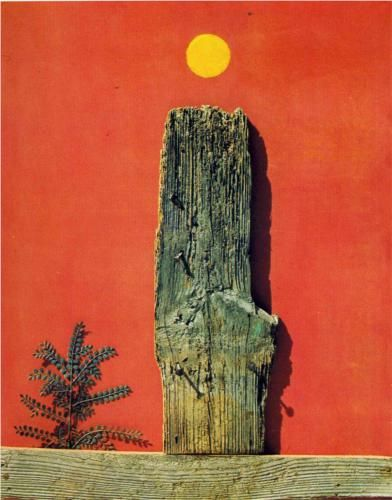 Red Forest. Max Ernst, 1970.