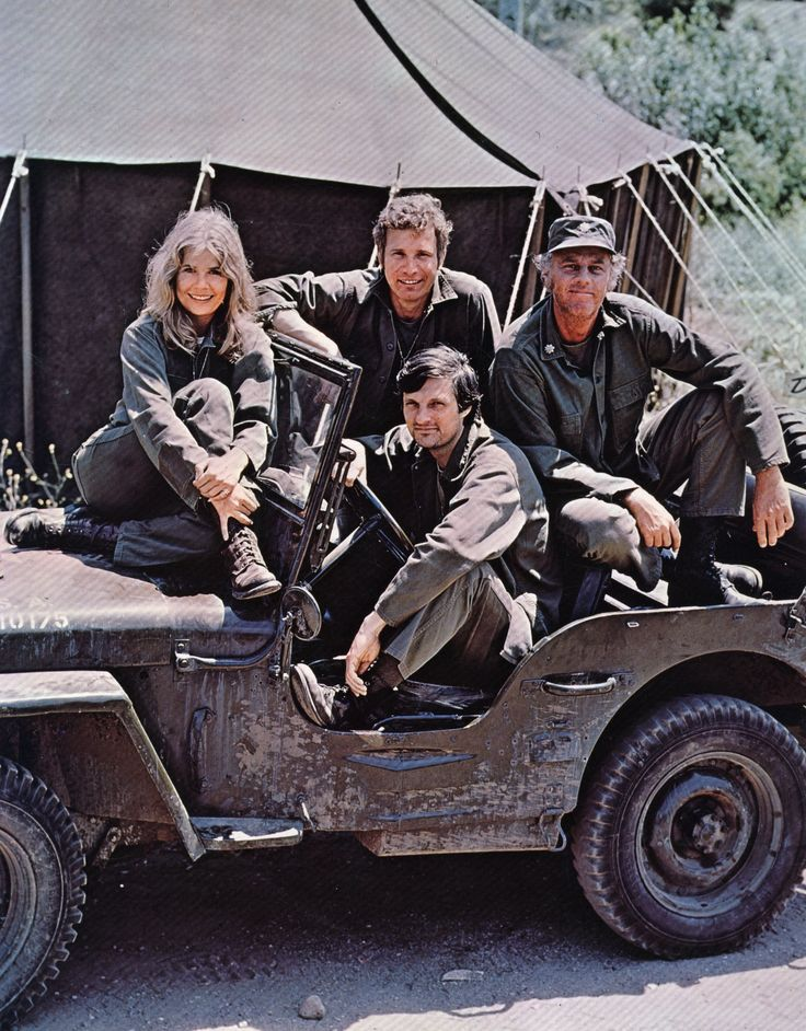 M*A*S*H, a timeless classic. Watched it in college... 3 times a day - 4 on Mondays... reruns at 5:00, 6:30 and 10:00 and on Mondays a new episode! I even had a trivia game.