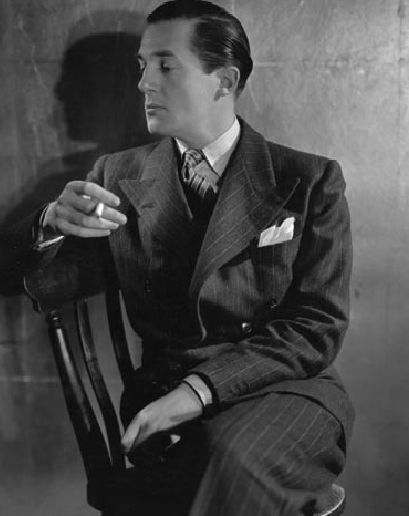 """""""A man should look as if he bought his clothes with intelligence, put them on with care, then forgot about them.""""  -Hardy Amies"""