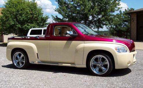 car-hire-uk.com Review:- Custom Chevy HHR