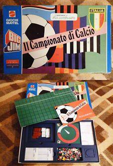 Gioco Di Società - Da Tavolo - BIG JIM - IL CAMPIONATO DI CALCIO - 1978 - Mattel
