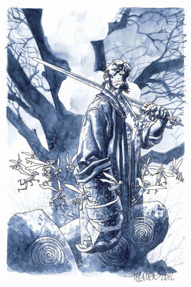 Hellboy by ##DuncanFegredo  ##Hellboy ##DarkHorse ##Comics ##DarkHorseComics ##Pop ##Culture ##PopCulture ##Art ##Artwork ##Illustrations - Michael Kuekes - Google+