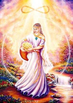 Goddess Of Wealth | Goddesses of Prosperity | The Pagan and the Pen