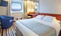 Oceanview..My cabin on the Pacific Dawn....4 night cruise to Moreton Island, Gladstone and back to Brisbane