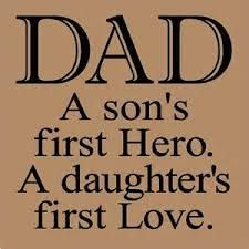 So very true!! Happy Fathers Day to all the Dads out there in Facebook land! A special wish for Dad and to Mike-the father of my children.....love ya lots!